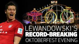 Infographic: Lewandowski's record-breaking Oktoberfest evening