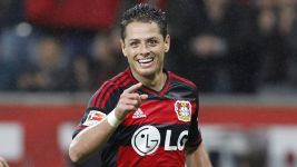 Chicharito off to a flyer at Bayer