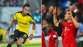 Aubameyang and Lewandowski set for Klassiker shoot-out