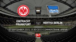 Frankfurt counting on home strength against Hertha