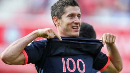 Lewandowski: 'I'm really pleased with both my goals'