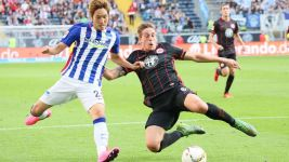 Darida claims Hertha a point in Frankfurt