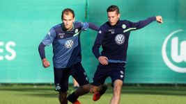 Wolfsburg in Manchester for United test