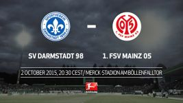 Darmstadt welcome Mainz under Friday night lights