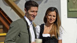 Bayern stars enjoying Oktoberfest festivities