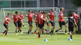 VfB Stuttgart: Trainingslager in Portugal