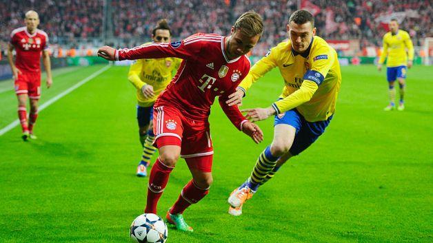 Rückspiel Bayern Arsenal