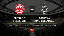 Gladbach eyeing four in a row in Frankfurt
