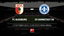 Darmstadt seek to maintain away run in Augsburg