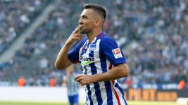 Ibisevic nets brace as Hertha overcome Hamburg