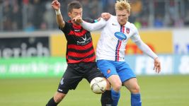 Starke strikes late to lift Heidenheim into fourth