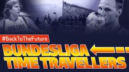 Bundesliga stars go back to the future