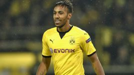 Aubameyang hits hat-trick as Dortmund down Qäbälä