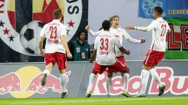 Leipzig up to second with Fortuna win